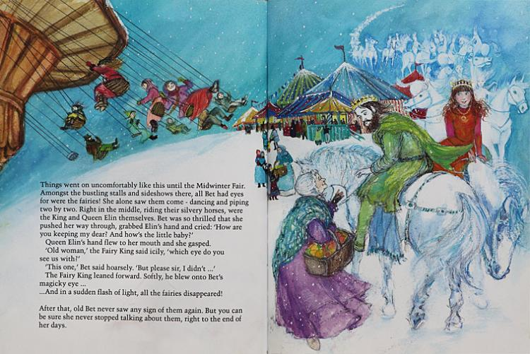 The woman who went to fairyland pages
